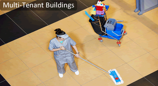 Multi Tenant Buildings Janitorial Maintenance Services