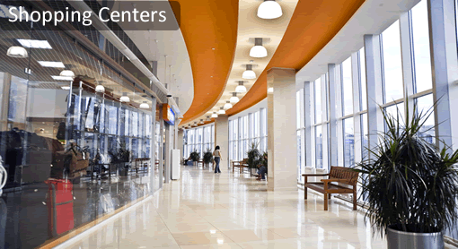 Shopping Centers Janitorial Maintenance Services